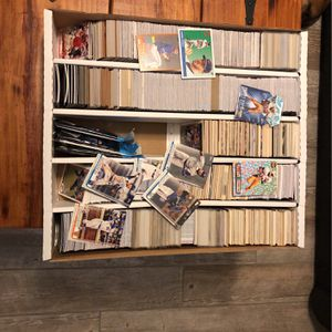 5000 Count Box Full Of Sports Cards TOPPS panini Upper Deck SP for Sale in Brandon, FL