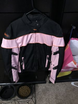 Woman's motorcycle jacket size M for Sale in Denver, CO