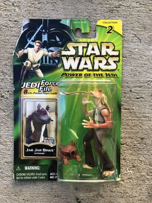 Star Wars Power Of The Jedi Jar Jar Binks Action Figure | Collection 2 for Sale in Los Angeles, CA