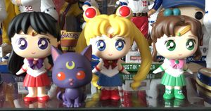 Funko POP Sailor Moon mini Vinyl set for Sale in Riverside, CA