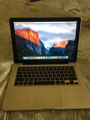"Macbook 13"" apple silver el Capitan OS for Sale in West Palm Beach, FL"