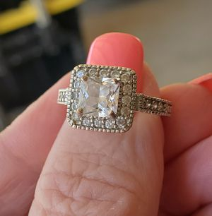 Princess cut ring..... size 6 for Sale in Riverside, CA