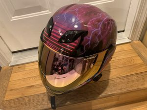 Icon Synthwave Size XXL with and Sena 20S Bluetooth for Sale in Washington, DC