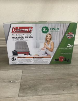 Brand New Twin Air Mattress for Sale in Jurupa Valley, CA