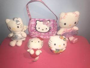 Hello Kitty purse and plush lot for Sale in Des Plaines, IL