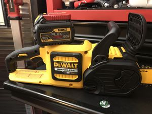 DEWALT FLEXVOLT 60V BRUSHLESS CHAINSAW KIT BRAND NEW for Sale in Virginia Beach, VA