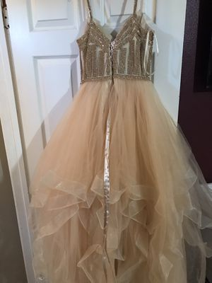 Champagne prom dress for Sale in City of Industry, CA