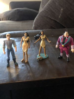 Disney's Pocahontas figures for Sale in Cary, NC