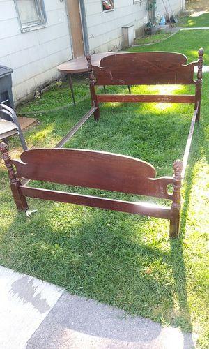 Bed frame headboard footboard full size for Sale in Yakima, WA