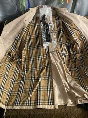 Burberry long trench coat for Sale in Harbor City, CA