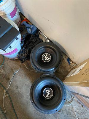 4 Audiopipe bd4 12s for Sale in Calumet Park, IL