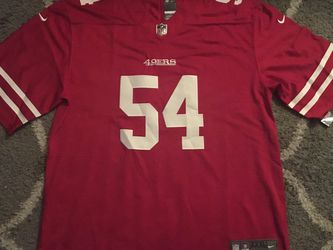 FRED WARNER SF 49ERS Red Onfield Home jersey Men's SZ XXXL Sewn Stitched Rare Brand New With Tags for Sale in Sacramento,  CA