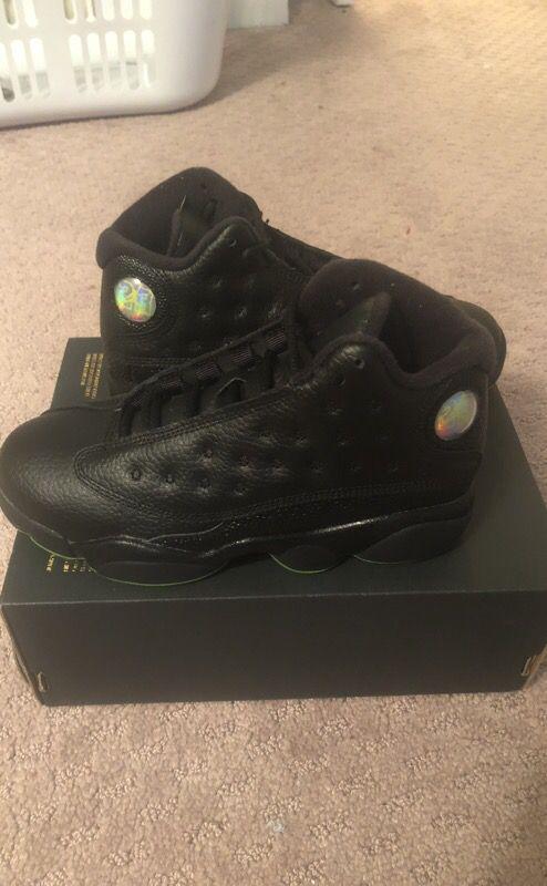 Kids Jordan 13 retro never worn brand new with box