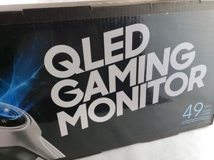 Samsung 49-Inch CHG90 144Hz Curved Gaming Monitor 3840x1080 for Sale in Placentia, CA