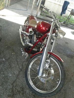 2000 Custom Yamaha Motorcycle XVS 1100 for Sale in Highlands, TX
