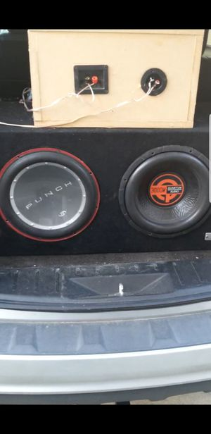 Quantum audio and Punch P1 plus Box for Sale in Durham, NC