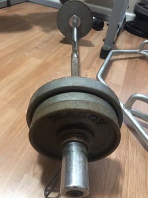 Gold's gym Olympic bar for Sale in Stockton, CA