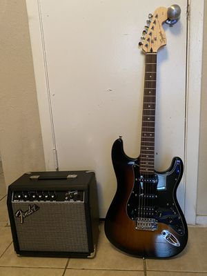 Squier by Fender Stratocastor HSS for Sale in Houston, TX
