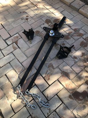 Curt weight distribution hitch for Sale in Phoenix, AZ