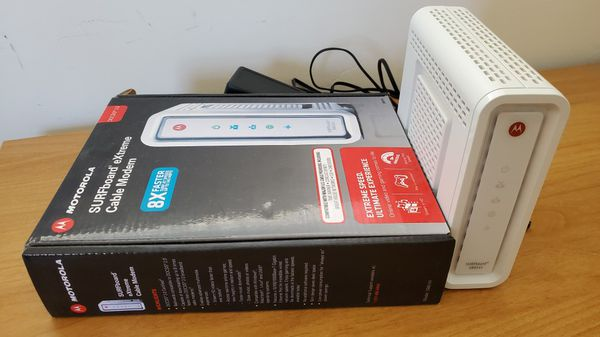 Arris Motorola surfboard SB6141 DOCSIS 3.0 modem