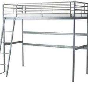 SVARTA TWIN LOFT BED FRAME for Sale in Massapequa, NY