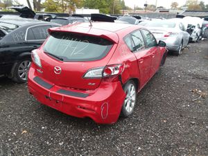 Selling Parts for a Red 2010 Mazda 3 STK#1442 for Sale in Detroit, MI