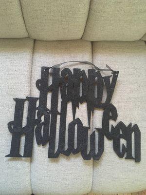 happy Halloween hanging decorations $6 for Sale in Cincinnati, OH