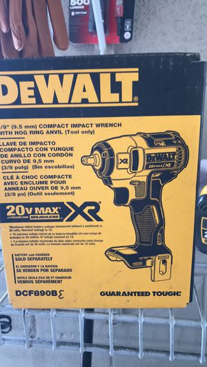 New Dewalt impact wrench 3/8 tool only for Sale in Orlando, FL