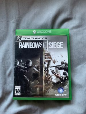 Rainbow Six Siege Xbox One for Sale in Moreno Valley, CA