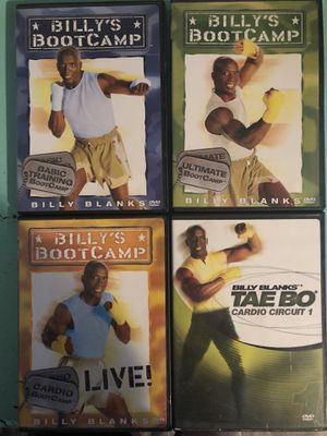 Tae Bo DVDs Billy Blanks Fitness for Sale in Murray, KY