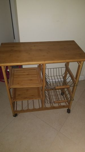 Kitchen cart for Sale in Hollywood, FL