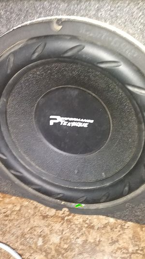 Subwoofer and amp for Sale in Wichita, KS