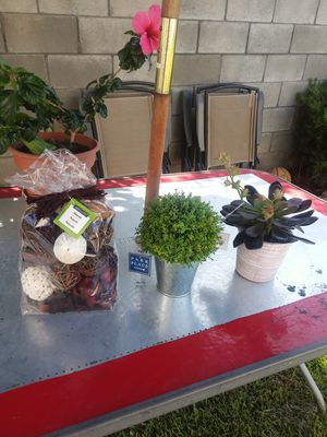 Home decor, fake plants for Sale in Monterey Park, CA