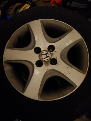 4 mastercraft tire with civic alloy rims for Sale in Tannersville, PA