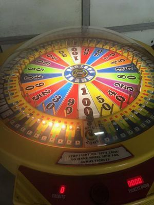 Wheel of Fortune ticket game for Sale in Aberdeen, WA
