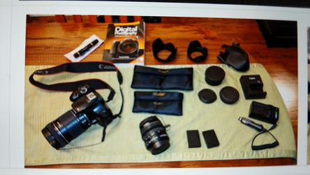 Canon SLR rebel T3 with upgraded lens for Sale in San Jose,  CA