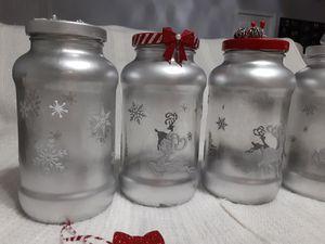 Christmas decorative jar for Sale in Jackson Township, NJ