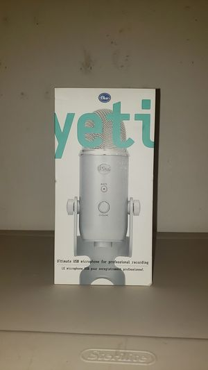 Blue Yeti Microphone for Sale in Tualatin, OR