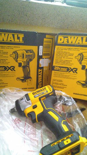 DeWalt 3/8 compact impact wrench w/ ring anvil for Sale in Kent, WA
