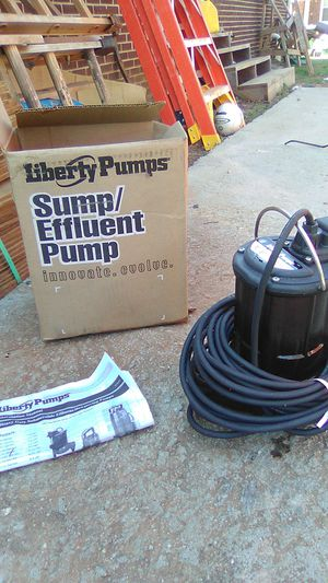 Sump pump for Sale in Taylors, SC