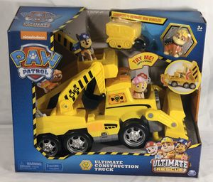 Rebel PAW Patrol Rescue ultimate Construction Truck for Sale in Spring, TX