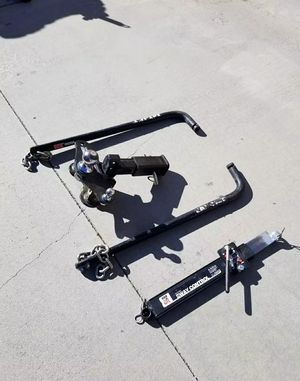 Trailer hitch and Sway Bar for Sale in Beaumont, CA