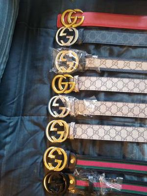 Premium Gucci Authentic Belts$99+ each for Sale in Irving, TX