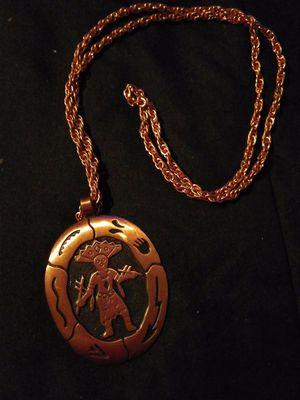 Vintage witch doctor copper necklace for Sale in Salt Rock, WV