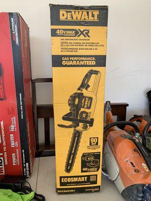 Chainsaw dewalt brand new for Sale in Ferndale, WA