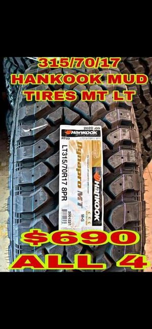 315 70 17 BRAND NEW SET OF TIRES for Sale in Mesa, AZ