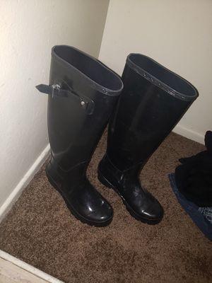 Tall rain boots, size 8 for Sale in Escondido, CA