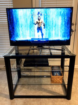 3 Tier Component Media Stand Audio Video Rack Entertainment Center with Cable Management Storage for Sale in Shawnee, KS
