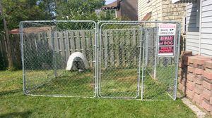 12FT W X 12FT D X 6FT H DOG KENNEL /PEN for Sale in Brooklyn, OH