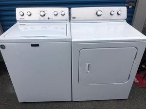 Maytag set washer and electric dryer for Sale in Frederick, MD